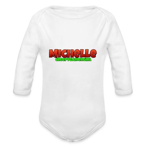 MichelleCGG Rucksack - Baby Bio-Langarm-Body