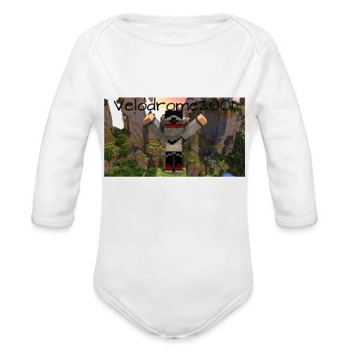 Velodrome2001 Tröja! - Ekologisk långärmad babybody