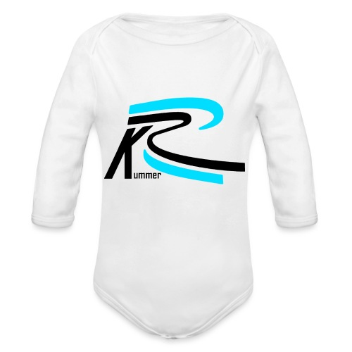 Roland Kummer Logo Schwarz - Baby Bio-Langarm-Body