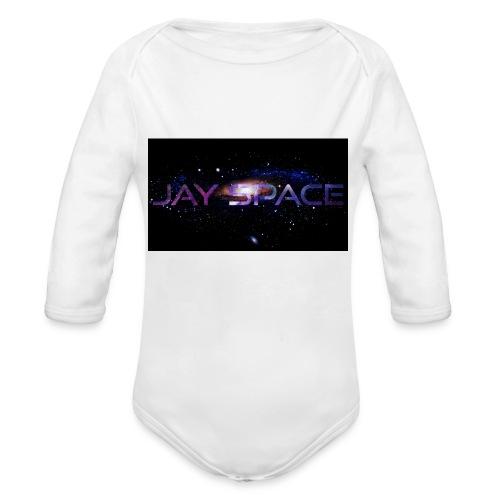 Jay Space - Vauvan pitkähihainen luomu-body