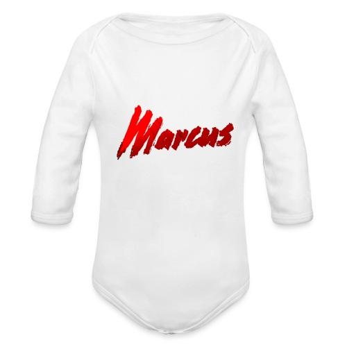 Marcus stile - Body ecologico per neonato a manica lunga