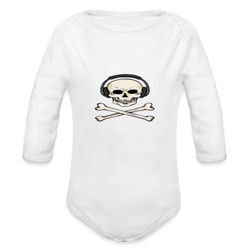 Blake The Gamer - Organic Longsleeve Baby Bodysuit
