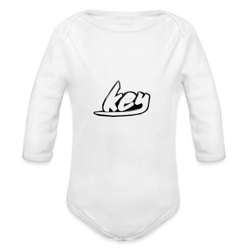 key - Baby bio-rompertje met lange mouwen