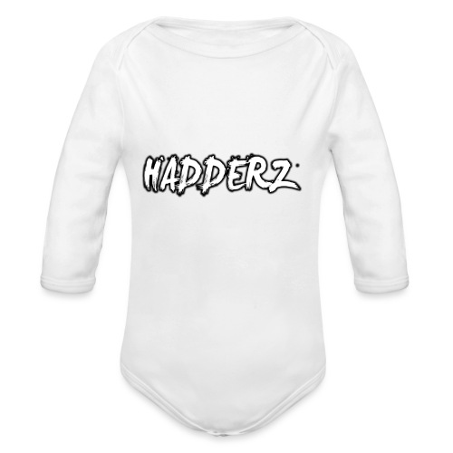 Hadderz T-Shirt - Organic Longsleeve Baby Bodysuit