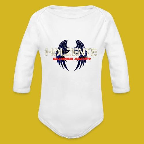 HolzEnte - Baby Bio-Langarm-Body