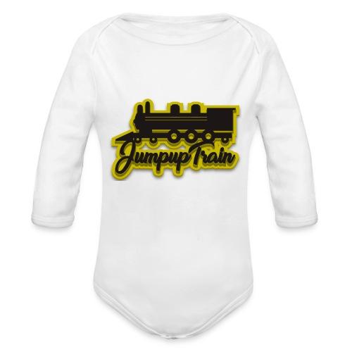 JUMPUPTRAIN - Baby bio-rompertje met lange mouwen