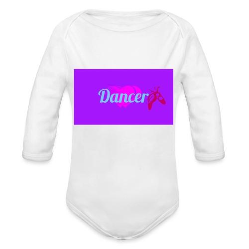 Logo_1483185851650 Dancer - Vauvan pitkähihainen luomu-body
