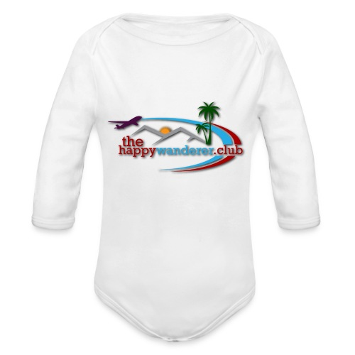 The Happy Wanderer Club - Organic Longsleeve Baby Bodysuit