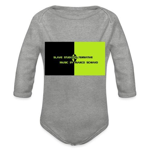 Channel_Art_Template_ufo_youtube_pt_4 - Body ecologico per neonato a manica lunga