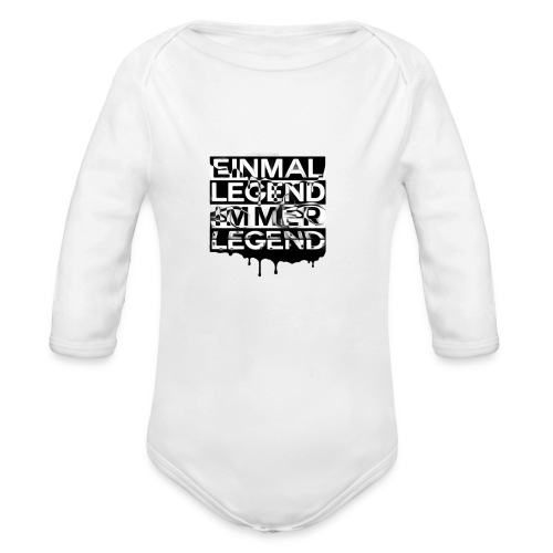 4everLegend - Baby Bio-Langarm-Body