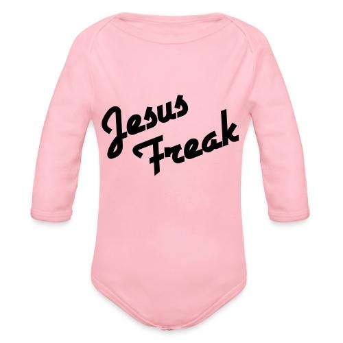 Jesus Freak - Baby bio-rompertje met lange mouwen