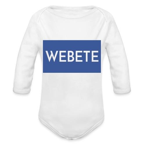 Webete - Organic Longsleeve Baby Bodysuit