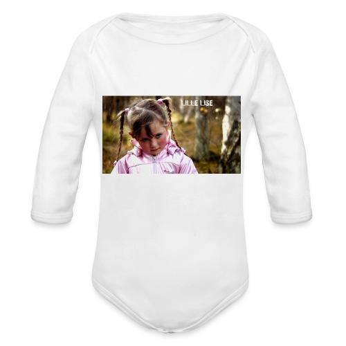 Lille Lise Picture - Organic Longsleeve Baby Bodysuit