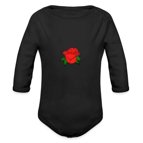 Rosa - Body ecologico per neonato a manica lunga