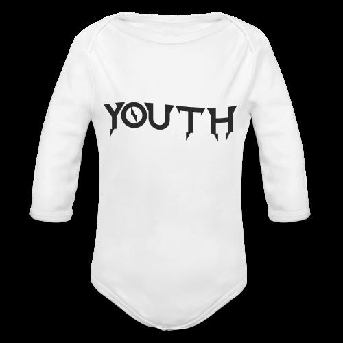 youth - Ekologiczne body niemowlęce z długim rękawem
