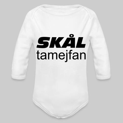 Skål Ta Mej Fan - Ekologisk långärmad babybody