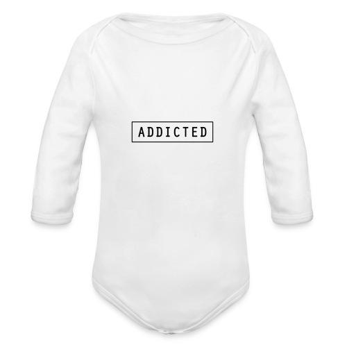 Addicted - Organic Longsleeve Baby Bodysuit