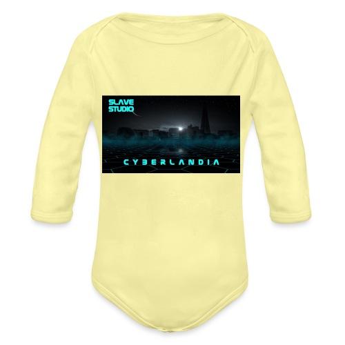 Cyberlandia - Body ecologico per neonato a manica lunga