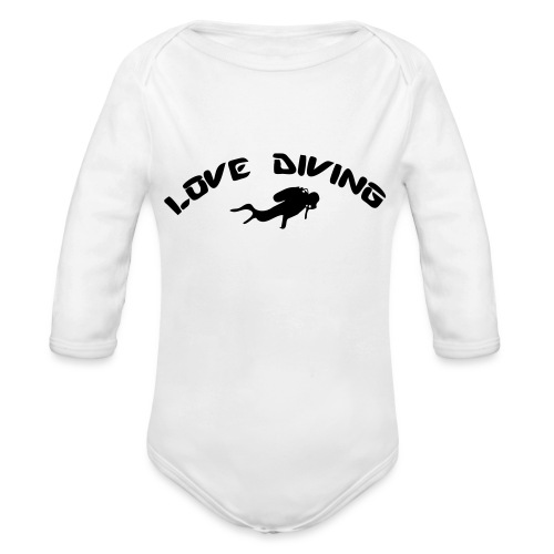 love diving - Baby Bio-Langarm-Body
