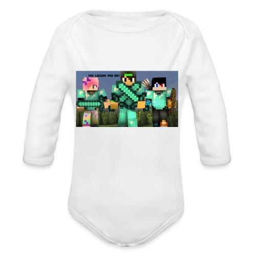 SAMMY&TINA - Organic Longsleeve Baby Bodysuit