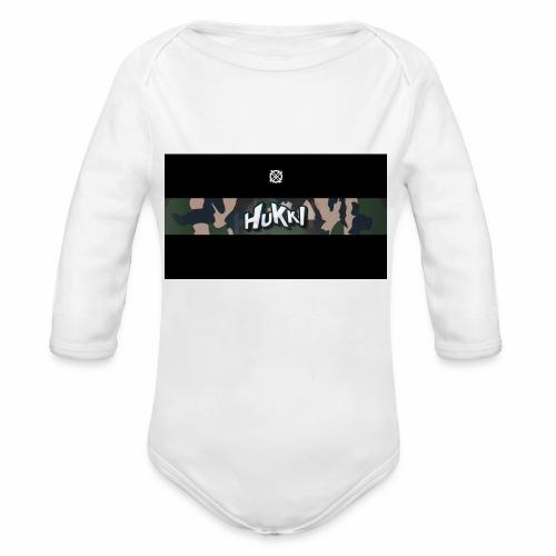 HuKKi - Baby Bio-Langarm-Body