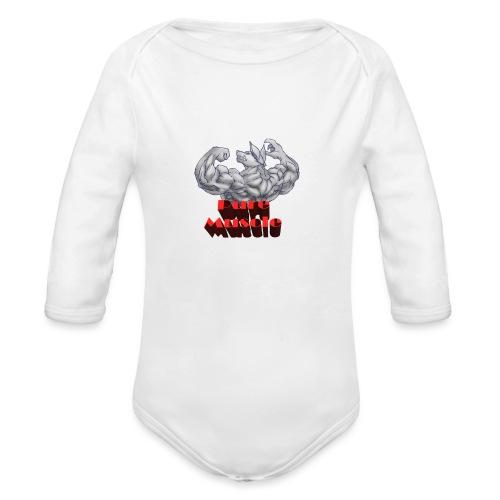 Pure Muscle BestFitness - Body orgánico de manga larga para bebé