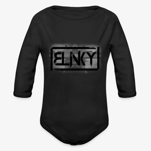 Blinky Compact Logo - Organic Longsleeve Baby Bodysuit