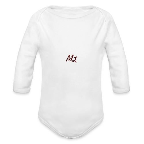 ML merch - Organic Longsleeve Baby Bodysuit