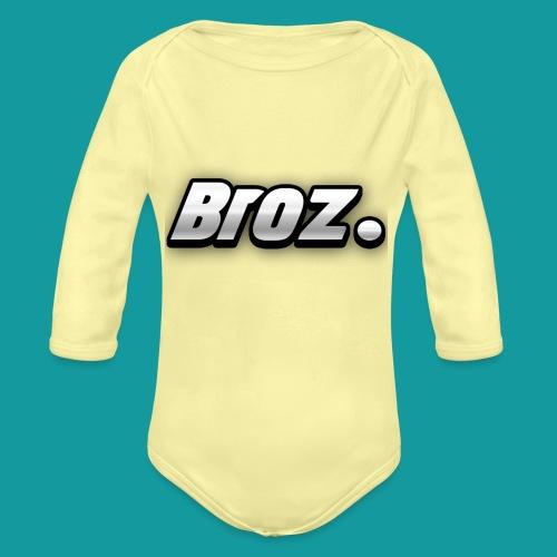Broz. - Baby bio-rompertje met lange mouwen