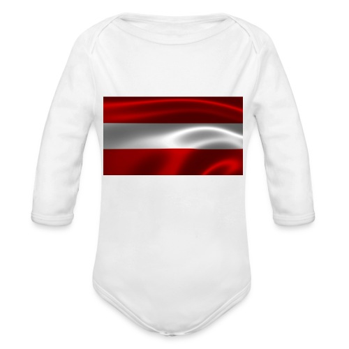 Austria I Love Austria - Baby Bio-Langarm-Body