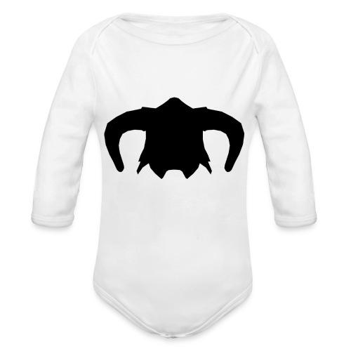 Nord Warrior Helm T-Shirt - Body ecologico per neonato a manica lunga