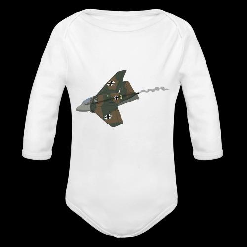 Me-163 Komet - Body ecologico per neonato a manica lunga