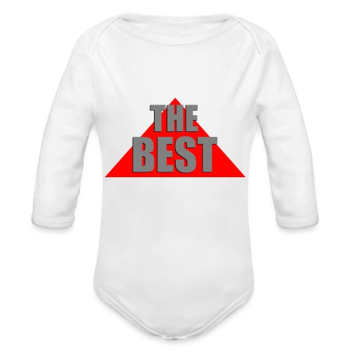 The Best, by SBDesigns - Body Bébé bio manches longues