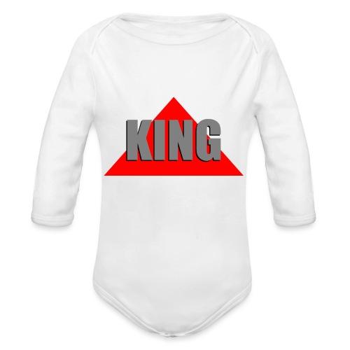 King, by SBDesigns - Body Bébé bio manches longues