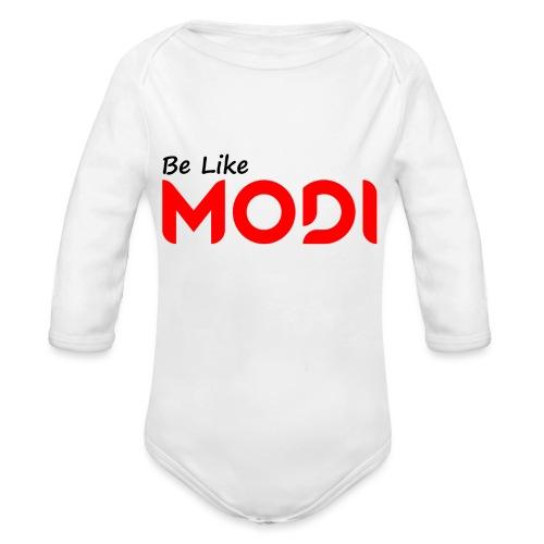 Be Like MoDi - Ekologiczne body niemowlęce z długim rękawem