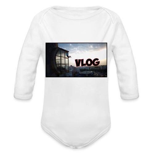 Vlog - Organic Longsleeve Baby Bodysuit