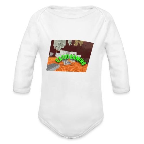 Logopit 1513697297360 - Baby bio-rompertje met lange mouwen