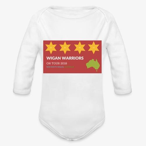 NSW AUS 2018 - Organic Longsleeve Baby Bodysuit