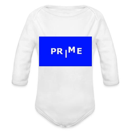 PR ME - Ekologisk långärmad babybody