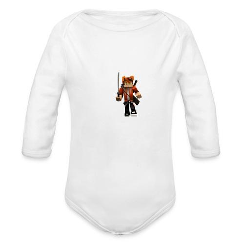 Alexhill2233 Minecraft - Organic Longsleeve Baby Bodysuit