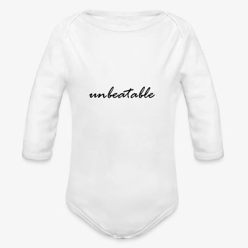 unbeatable - Baby Bio-Langarm-Body