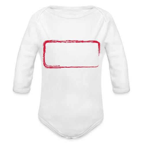 Rahmen_01 - Baby Bio-Langarm-Body