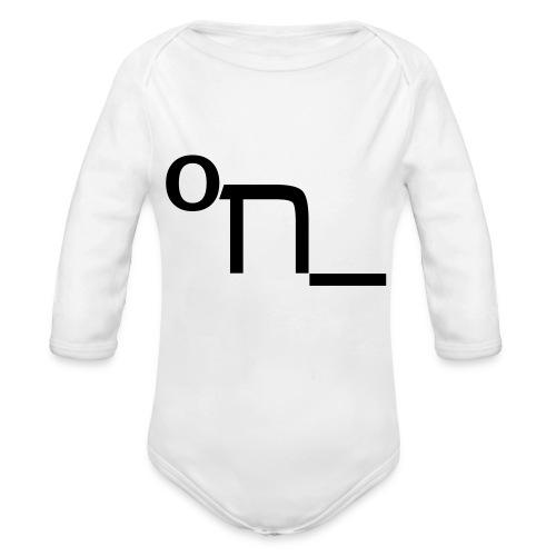 DRUNK - Organic Longsleeve Baby Bodysuit