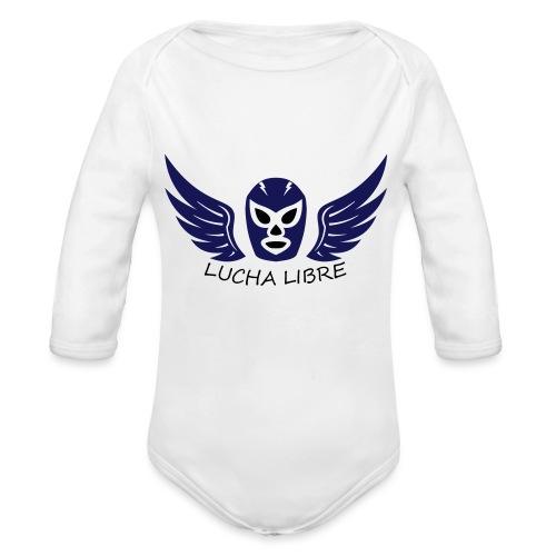 Lucha Libre - Body Bébé bio manches longues