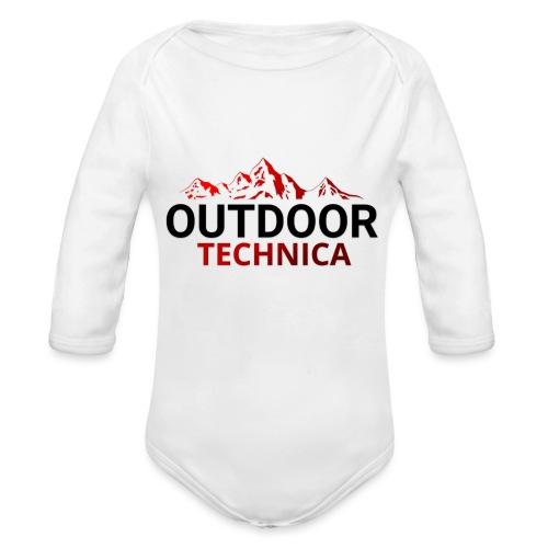 Outdoor Technica - Organic Longsleeve Baby Bodysuit