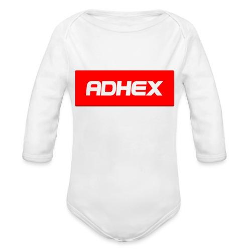 Adhex X Suprim - Body orgánico de manga larga para bebé