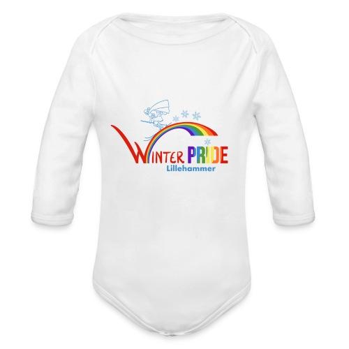 Winterpride - Økologisk langermet baby-body