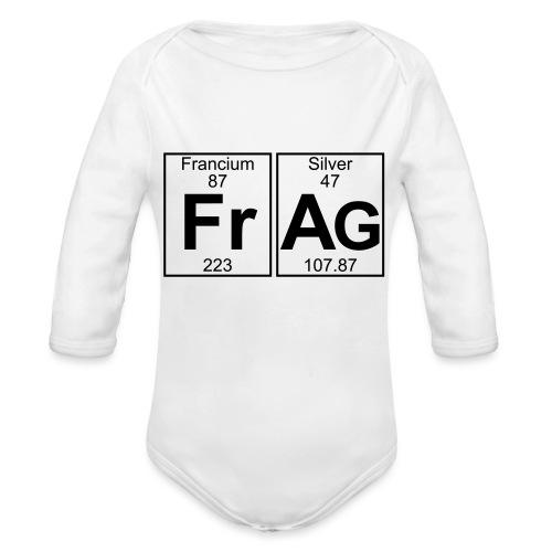 Fr-Ag (frag) - Full - Organic Longsleeve Baby Bodysuit