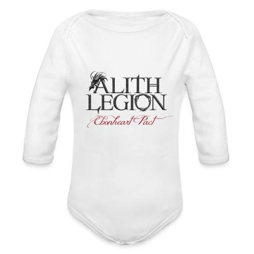 Alith Legion Logo Dragon Ebonheart Pact - Organic Longsleeve Baby Bodysuit