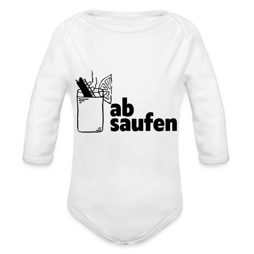 absaufen - Baby Bio-Langarm-Body